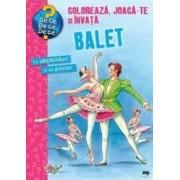 Coloreaza joaca-te si invata balet