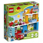 LEGO DUPLO My Town Family House 10834, Preschool, Pre-Kindergarten Large Building Block Toys for Toddlers
