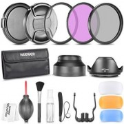 Neewer 67MM Professional Accessory Kit for CANON Rebel T5i T4i T2i EOS 700D 650D 550D 70D 60D 7D 6D DSLR Cameras with 18-135MM EF-S IS STM Zoom Lens