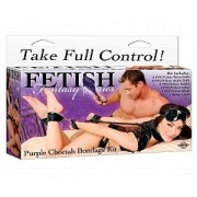 Fetish Fantasy Series Purple Cheetah Bondage Kit