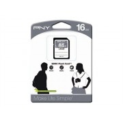 PNY Storage - Carte mémoire flash - 16 Go - Class 4 - SDHC