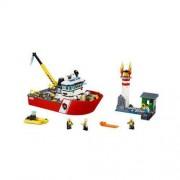 Lego City - Łódź strażacka 60109