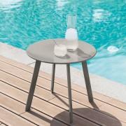 Hespéride Table d'appoint Saona taupe Jardin