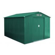 Zahradní domek G21 GAH 730 - 251 x 291 cm, zelený G21