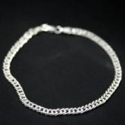 bracelet 925 silver links of 4 mm / 20 cm