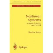 Nonlinear Systems by Shankar Sastry