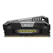 Corsair CMY16GX3M2C1600C9 Vengeance PRO Kit di Memoria da 16 GB, 2x8 GB DDR3L Low Voltage, 1600 MHz, CL9 XMP Performance, Nero