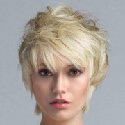 rosegal Short Side Bang Fluffy Straight Synthetic Wig