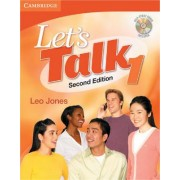 Let's Talk Student's Book 1 with Self-Study Audio CD by Leo Jones