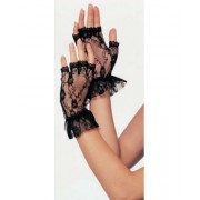 Manusi Fingerless - albe