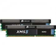 Memorie Corsair XMS3 8GB (2x4GB) DDR3, 1600MHz, PC3-12800, CL11, Dual Channel Kit, CMX8GX3M2A1600C11