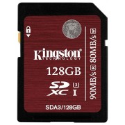 Kingston SDXC 128GB UHS-I SC3 (SDA3/128GB)