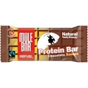 Mule Bar Refuel Baton energetyczny Chocolate Banana brązowy Batony energetyczne