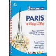 Paris par arrondissement ( Stadtplan)