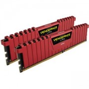 RAM памет Vengeance LPX 16GB (2 x 8GB) DDR4 DRAM 3000MHz C15 Memory Kit - Red, CMK16GX4M2B3000C15R