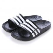 アディダス adidas サンダル デュラモスライド DURAMO SLIDE G15890 394 (ブラック×ホワイト) レディース メンズ