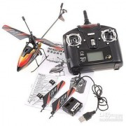 New & Improved WL V911 4 CH Single Rotor Helicopter Version 2 Red / White by WE-R-KIDS