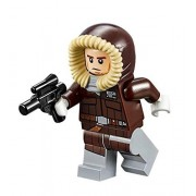 LEGO Star Wars Minifigure : Han Solo Hoth Parka with Blaster (75138) by LEGO