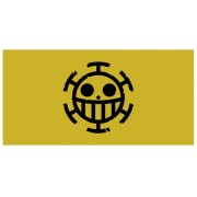 Pirates Pirate Flag Big Towel One Piece Heart (japan import)