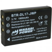 Wasabi Power Battery for Toshiba PX1657, PA3791U, and Camileo H30, H31, X100