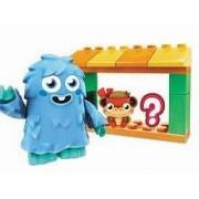 Mega Brands Moshi Monsters Mega Bloks Set #80638 Moshlings Zoo And Furi