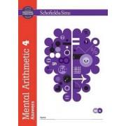 Mental Arithmetic 4 Answers by J. w. Adams