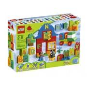 LEGO DUPLO Play with Letters 62pieza(s) - juegos de construcción (Multicolor)