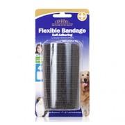 FLEXIBLE (Black) BANDAGE SELF-ADHERING (4 inches) 10cm