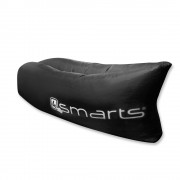 4smarts POWERNAP Outdoor Couch - надуваемо легло за къмпинг, басейн, плаж и т.н. (черен)