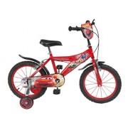 """Toimsa - 738 - Vélo pour Enfant - Cars - Garçon - 16"""" - 5 à 8 ans"""