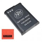 Replacement EN-EL23 Battery for Nikon Coolpix P600 Digital Camera + More!!