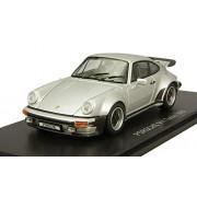 Kyosho Porsche 911 Turbo 1975 Silver 1/43