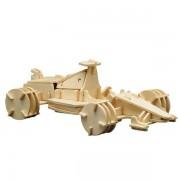 Puzzle eco 3D din lemn Formula 1 Pebaro