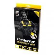 Save Lives Now, Protector, LED Reflex Vest - Medium