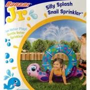 Silly Splash SNAIL SPRINKLER Inflatable Backyard Water Play (40 Long)