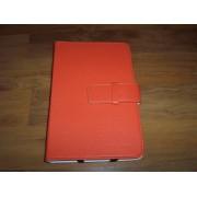 Husa tip carte portocalie pentru tablete diagonala 7inch