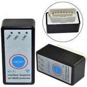 ELM327 mini Wifi adapter multiprotokollos interfész autó diagnosztika kapcsolós fekete