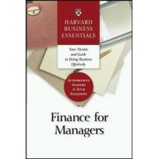 Finance for Managers by Harvard Business School Press