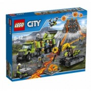 LEGO® City 60124 La base d'exploration du volcan