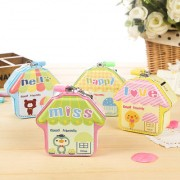 Magideal 1x Coin Cash Collectible Cartoon Picture Mini Piggy Box Kids Child Toy Gift