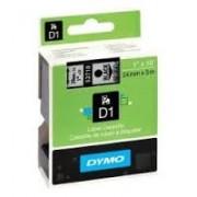 Dymo D1 Label Cassette 24mmx7m (SD53710) - Black on Transparant