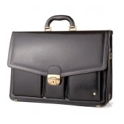 Leather Briefcase B-621-DW
