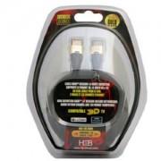 H&B Cordon HDMI Paqué Or 10M
