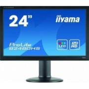 Monitor LED 23.6 Iiyama B2480HS-B2 FullHD 2ms Negru