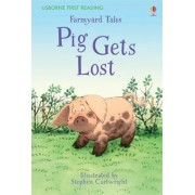First Reading Farmyard Tales: Pig Gets Lost by Heather Amery