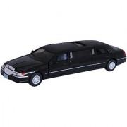 Kinsmart Die-Cast Metal 1999 Lincoln Town Car Stretch Limousine (Black)