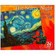 Puzzles Plus The Starry Night Van Gogh 24 Piece Jigsaw Puzzle by Puzzles Plus
