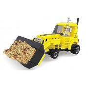 Ausini Construction Big Front Loader Tractor With Action Figures Building Bricks 118pc Educational Blocks Set Compatible To Lego Parts Great Gift For Children