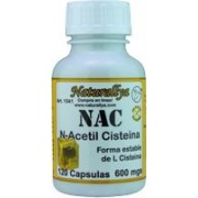 N Acetil Cisteina 120 Capsulas
