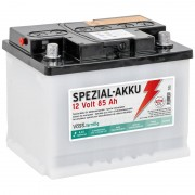 12V/ 85Ah VOSS.farming Special Purpose Battery for Energisers - Battery Acid not Incl.
